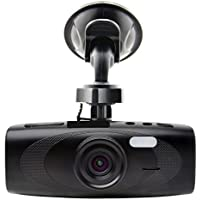 Black Box G1W-H Hidden Dash Cam - WDR 160° Wide Angle 4X ZOOM - Full HD 1080P H.264 2.7 LCD Car DVR Video Recorder - Night Vision Motion Detection G-Sensor - NT96650 + AR0330