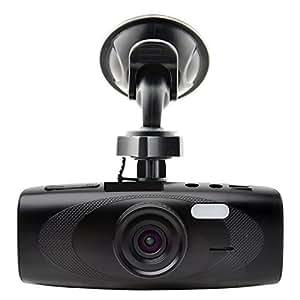 "Black Box G1W-H Hidden Dash Cam - WDR 160° Wide Angle 4X ZOOM - Full HD 1080P H.264 2.7"" LCD Car DVR Video Recorder - Night Vision Motion Detection G-Sensor - NT96650 + AR0330"