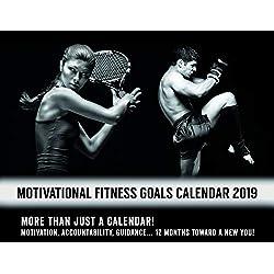 Complete Home Wellness Motivational Fitness Goals Calendar 2019