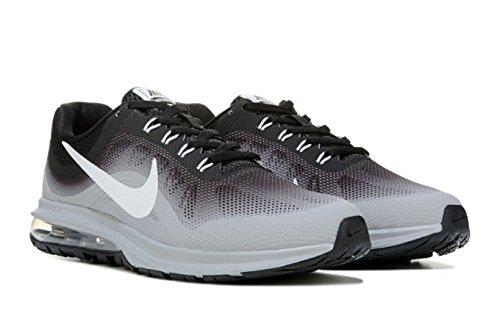 NIKE Men's Air Max Dynasty, Running, Black/White/Grey, M US