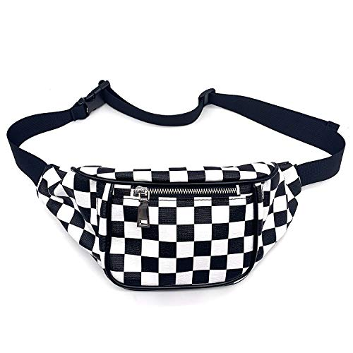 Dolores Women Fashion Hologram Laser Waist Bag Fanny Pack Zipper Waterproof Chest Pack Bum Bag Beach Purse