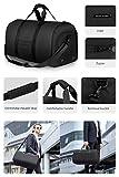 Markryden Garment bag 45L Large Duffel Bag - 2 in 1