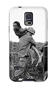 High Impact Dirt/shock Proof Case Cover For Galaxy S5 (photography Black And White)