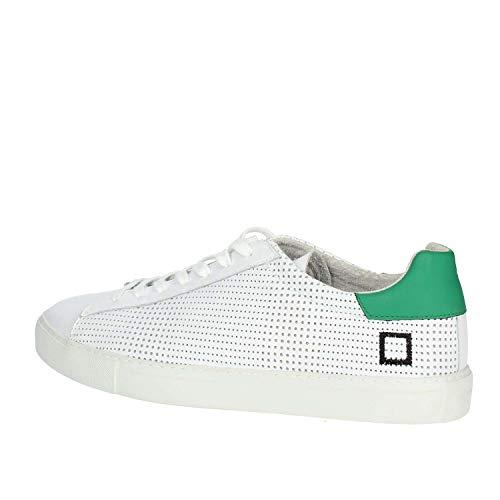 a Uomo Sneaker In Bianco D pe verde Mainapps Bianco e wh Pelle Nw t RdUqd