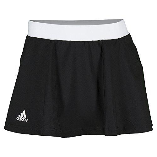 adidas Women's Club Skort, White/Black, XS/L