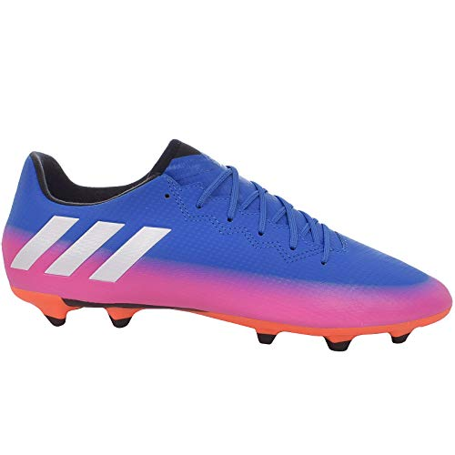 adidas Mens Football Boots Messi 16.3 FG Firm Ground Soccer Cleats-Blue-11