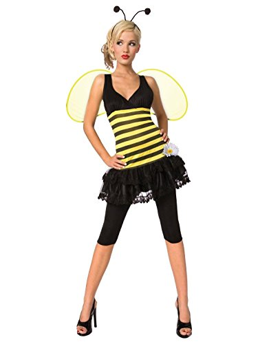 Toy Island Girls Adult Honeybee Costume, Large/Size
