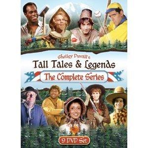Tall Tales & Legends : The Complete Series 9 DVD Set : Pecos Bill , Ponce De Leon , the Legend of Sleepy Hollow , Johnny Appleseed , John Henry - Bat Oakley