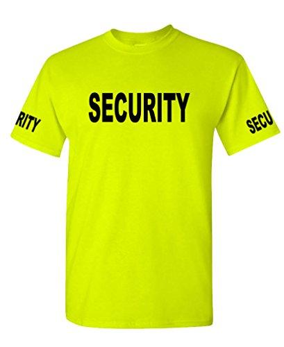 SECURITY Event Duty Cotton T Shirt