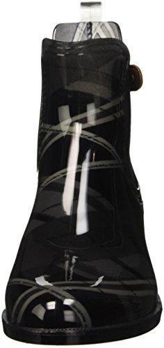 Tommy Hilfiger Damen O1285dette 1r Chelsea Boots Mehrfarbig (black Mix 831)