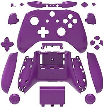 Canamite - Carcasa Protectora para Mando de Xbox One Morado: Amazon.es: Electrónica