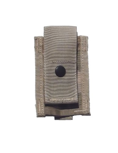 2 Single 40mm Grenade Pouch, Desert Camo, Military ()