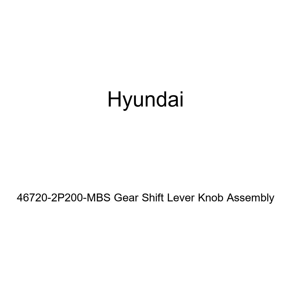 Genuine Hyundai 46720-2P200-MBS Gear Shift Lever Knob Assembly