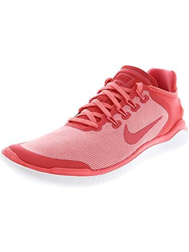 Nike Women's Free RN 2018 Sun Running Shoe (9 B(M) US, Sea Coral/Tropical Pink) (Shoes Free B)