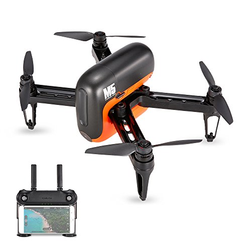 Goolsky WINGSLAND M5 Wifi FPV Selfie Smart Drone With 720P HD Camera Optical Flow GPS RC Quadcopter by Goolsky