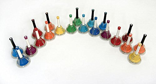 Kids Play Combined 20 Note Handbells/Deskbel - Rb117Ex - 1456850 by Rhythm Band