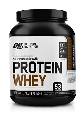 Optimum Nutrition Protein Whey Chocolate Milkshake, 1er Pack (1 x 1.7 kg)