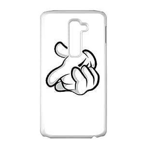 LG G2 Cell Phone Case White Mickey Mouse GJA Cell Phone Case Custom Hard