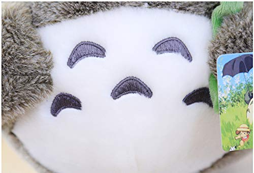 Totoro Plush - Leaf Hat - 7.8 Inches   My Neighbor Totoro   Studio Ghibli Plush 5