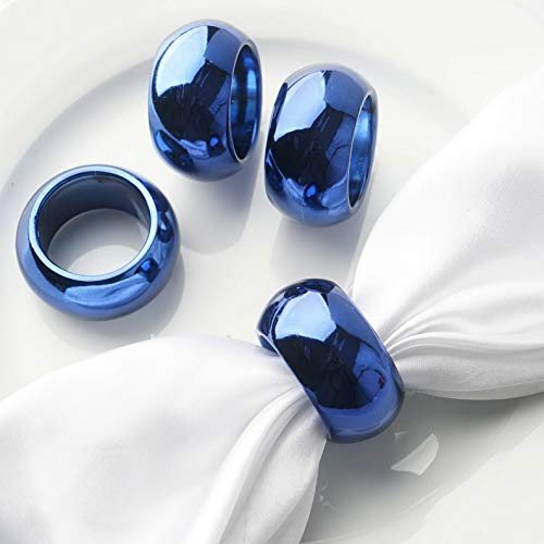 Acrylic NAPKINS Rings Wedding Party Kitchen Catering Banquet Dinner Decorations