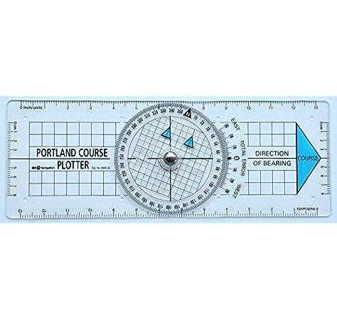 ECOBRA navegacíon Paralelo Regla 12 Longitud 30,5 cm: Amazon.es: Deportes y aire libre