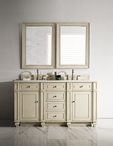 (60 in. Double Vanity in Vintage Vanilla Finish)