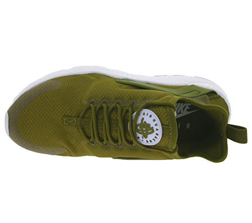 Nike Femmes Air Huarache Ultra Chaussures De Course Olive Lin Blanc 302