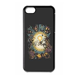 iPhone 5c Phone Case Covers Black bugs and little light MTM Personalized Unique Phone Case