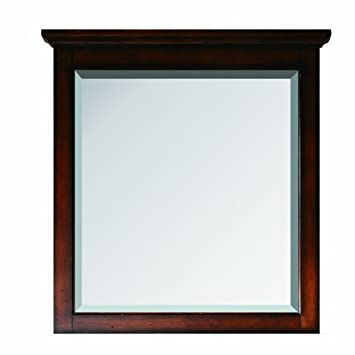 Avanity Tropica 31 in. Mirror in Antique Brown finish
