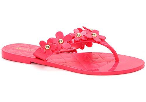Flip daisy Flops Petite pink Jolie CETxqt