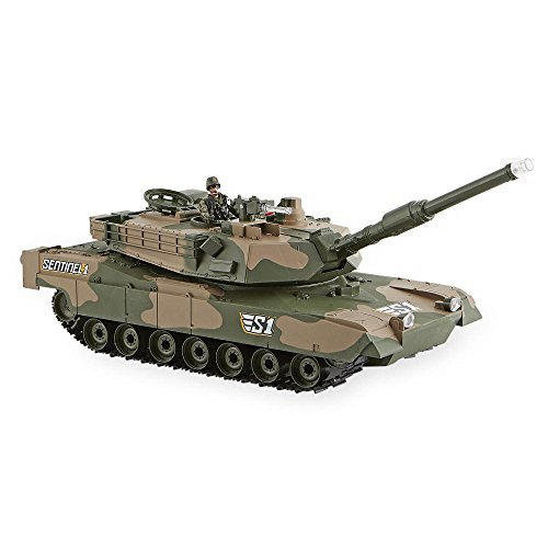 True Heroes Sentinel 1 Recoiling Battle Tank with 4 inch Soldier Figure