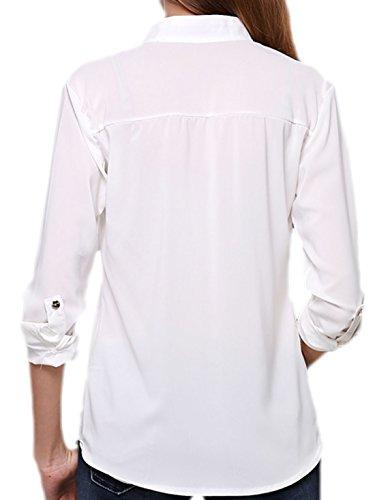 Vian Lundgaard - Camisas - para mujer Weiß