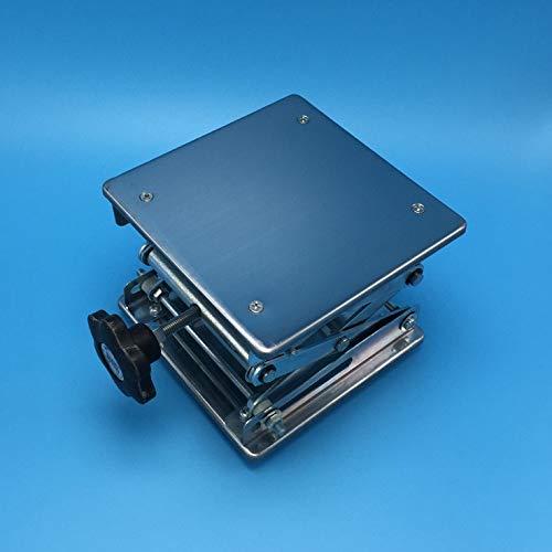 Ochoos 6'',150 X 150 x 250mm Stainless Steel Table,Lab-Lift Lifting Platforms Lab Jack Scissor Stand Rack Laboratory Instrument,1 PC