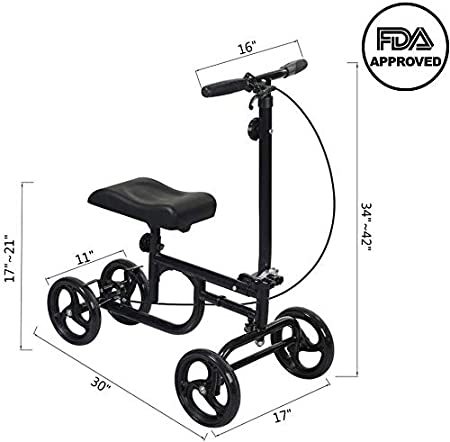 Amazon.com: ELENKER - Rodillera para patinete: Health ...