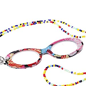 Yumian Reading Presbyopic Glasses Necklace Glasses Hanging Portable Eyewear +1.0 To +4.0 (2.00)