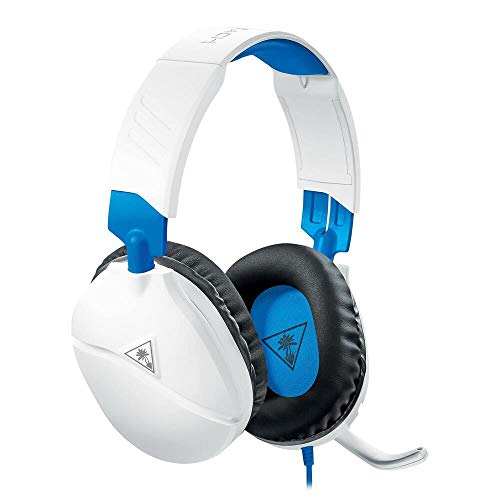 Turtle Beach Recon 70 White Gaming Headset for PlayStation 5, PS4 Pro, PS4, Xbox One & Xbox Series X|S, Nintendo Switch, PC, and Mobile