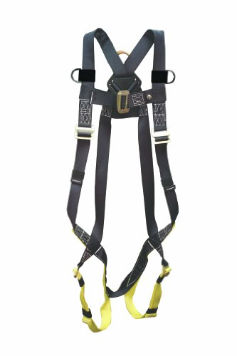 Elk River 42109 Universal Polyester/Nylon Full Body 1 Steel D-Ring Harness with Parachute Mating Buckles and Fall Indicator, Fits Medium to 2X-Large by Elk River