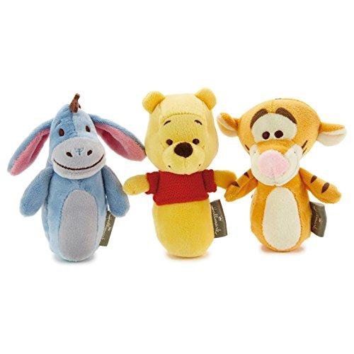 Hallmark Winnie the Pooh, Eeyore, and Tigger Rattle Set