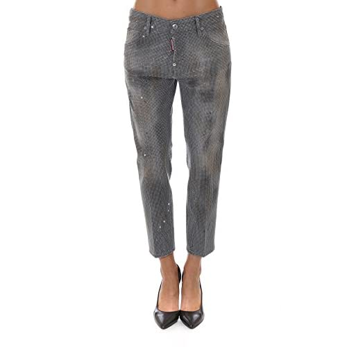f248bbd5a4a Dsquared2 Mujer S75LA0888S30260852 Gris Algodon Jeans outlet ...