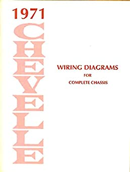 1971 chevrolet chevelle complete factory set of electrical 1964 chevelle wiring diagram chevelle electrical wiring diagram #12