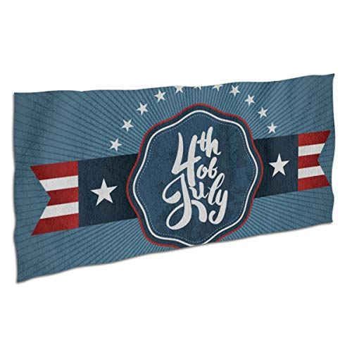 Affany Microfiber Beach Towel, Absorbent Bath Towel Lightweigh, Oversized Independence Day Beach Blanket Perfect for Beaches/Pool/Bathroom/Travel]()
