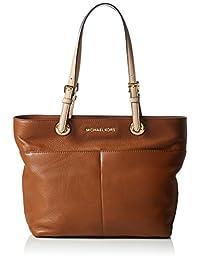 Micheal Kors Bedford Women's Leather Tote Handbag Luggage