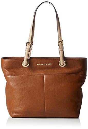 Michael Kors Women's Bedford Top Zip Pocket Tote Bag, Luggage, - Online Kors Shop Michael Bags