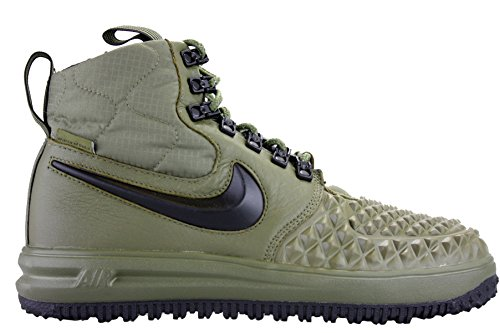 - NIKE Mens Lunar Force 1 Duckboot '17 Medium Olive/Black-Wolf Grey 916682-202 Size 11