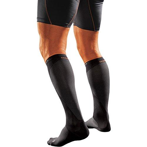 Shock Doctor RE+ SVR Recovery Compression Socks (Medium, Black)