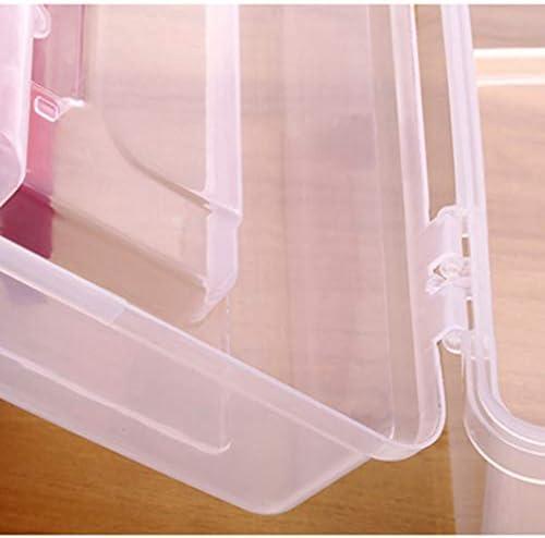 救急箱 薬箱 薬ケース 収納ボックス 化粧箱 メイクケース 緊急 防災 薬入れ 小物入れ 応急処置 多機能 家庭用 雑貨収納 整理ポーチ 取っ手付き 四色展開 25.5*15*17.5cm レッド ブルー グリーン