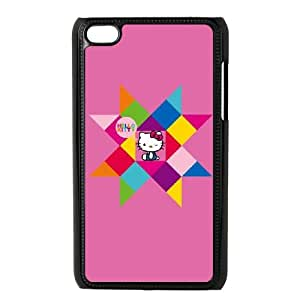 Hello Kitty Geometric iPod Touch 4 Case Black phone component RT_390918