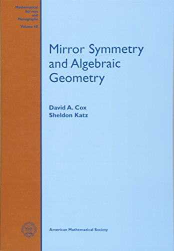 Mirror Symmetry and Algebraic Geometry (Mathematical Surveys and Monographs)