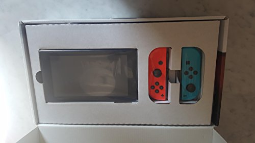 Nintendo Switch Console Neon Blue & Neon Red Joy-Con Deal (Large Image)