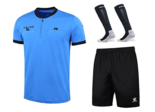 07240ceba Kelme Soccer Referee Shirt Bundle – Set Includes Referee Jersey